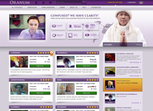 Oranum Psychic Readings Review